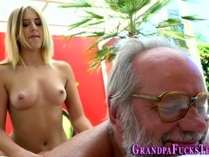 old man young girl vids