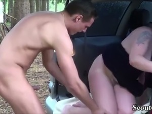 old mom young boy sex