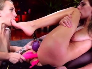 Double anal mania