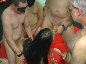 interracial gangbang party video archive