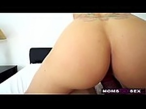oral sex with hairy step moms