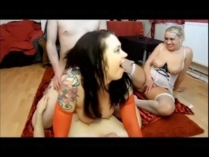 Double anal pluged