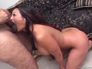 big tits interracial anal
