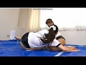 girls wrestling naked loser gets